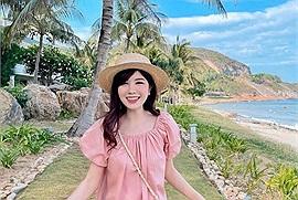 """Hot girl An Japan """"tái xuất"""" với bộ ảnh du lịch biển Nha Trang đẹp """"mê hồn"""""""