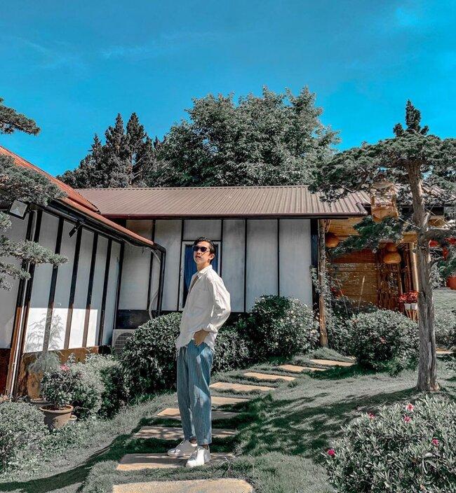 ngôi nhà nhật bản tại GUÊ Garden