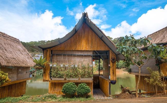 kiến trúc độc đáo của an sơn hồ quán đà lạt