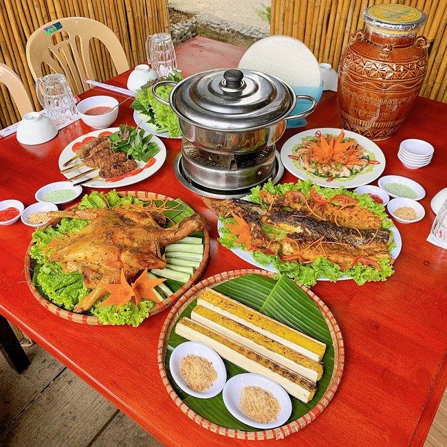 ẩm thực Tây Nguyên tại An Sơn Hồ Đà Lạt