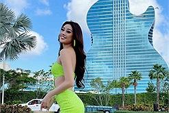 """Khách sạn Khánh Vân ở khi thi Miss Universe: """"đàn guitar độc nhất"""" hạng kim cương giá """"sương sương"""" 1,5 tỷ"""