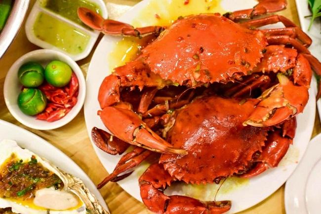 hải sản Cua Bay ngon rẻ Hà Nội