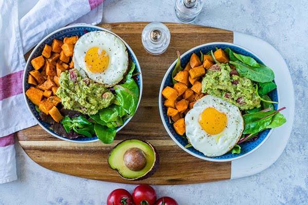 Salad thập cẩm healthy buổi sáng