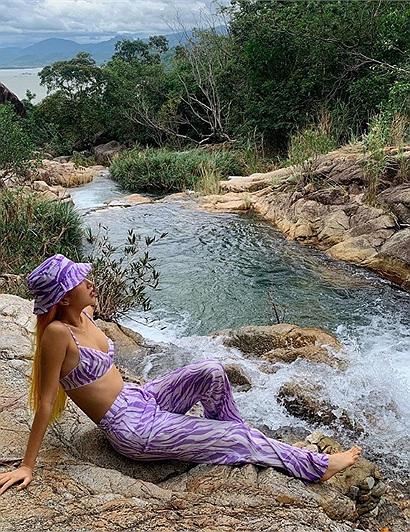 """Theo chân Quỳnh Anh Shyn """"check in"""" mọi ngóc ngách của khu resort sang chảnh bậc nhất Ninh Vân Bay"""