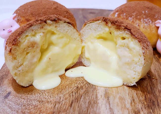 bánh mì dẻo tiramisu