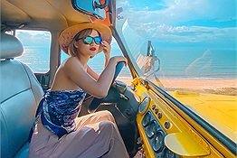 Chẳng cần người yêu đi cùng cô nàng 9x vẫn có loạt ảnh siêu ảo với chuyến đi 3N3Đ tại Mũi Né (Phan Thiết) chỉ tốn 4 triệu đồng