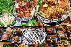 """""""Loa loa loa"""" đã tìm ra địa chỉ 60 quán ăn buffet ở Hà Nội ngon nhất cho hội mê đồ nướng """"xì xèo"""" rồi!"""
