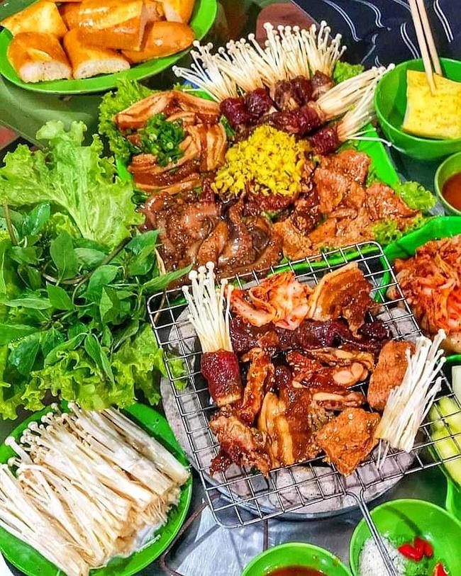 Ở Hà Nội tìm các quán nướng vỉ và xiên nướng