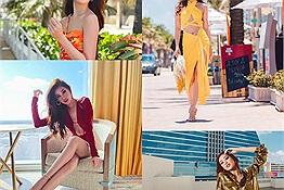 Khánh Vân đi thi Miss Universe: vất vả vẫn cười tươi, ăn bao món vẫn yêu nhất bánh mỳ Việt