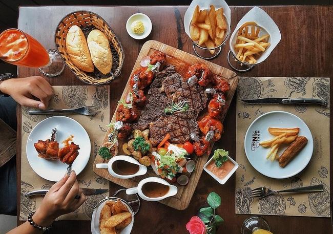 Nhà hàng bánh mì bít tết chuẩn châu Âu GRILLE6 Steakhouse