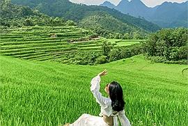 """Nghe nói Pù Luông đang vào mùa lúa xanh mướt đẹp nhất năm, 2N1Đ khám phá """"thiên đường giữa đại ngàn"""" thôi nào!"""