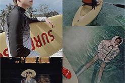 """Sơn Tùng đúng là """"người chơi hệ nước"""", nửa đêm up ảnh chèo thuyền, lúc nào cũng check in biển, hồ, sông, suối"""