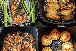 Từ ngày có nồi chiên không dầu, mọi công thức nấu món ăn ngon gia đình đều cực kì đơn giản