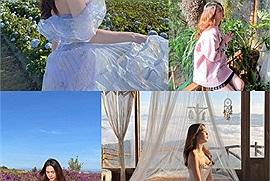 Sau vụ tụ tập chụp ảnh bikini, Ngọc Trinh tung video check in Đà Lạt không hở bạo, không lồng lộn mà vẫn đẹp xiêu lòng