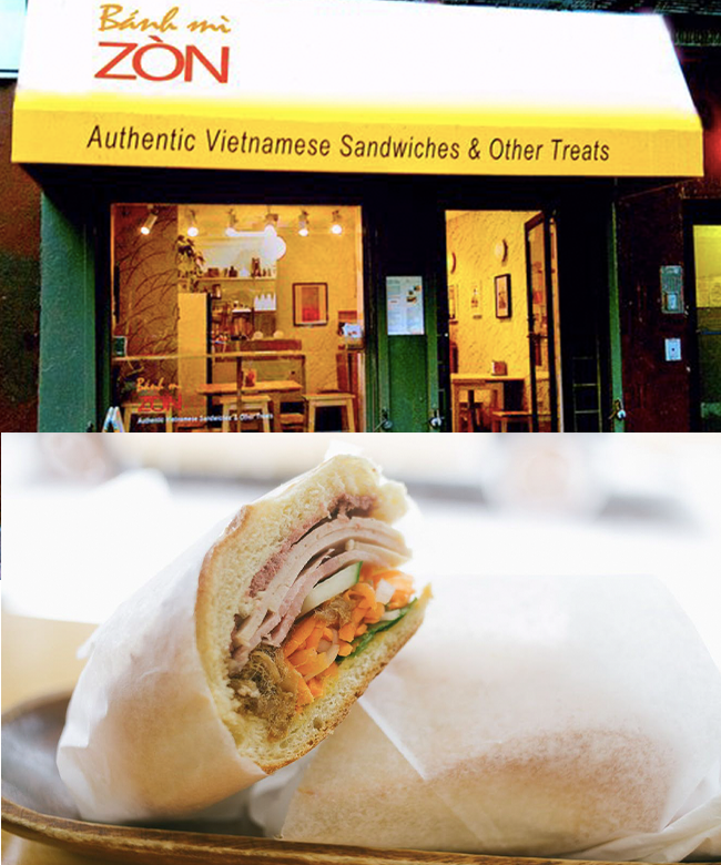 bánh mì zòn tại newyork