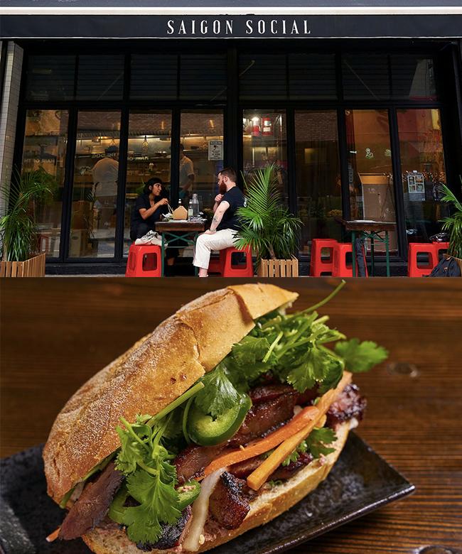 bánh mì saigon social ở new york