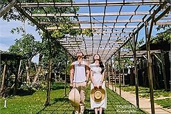 """Muốn về quê """"nuôi cá, trồng rau"""" thì thử ghé 'Thị trấn xanh' đẹp mơ màng ở Nha Trang này"""