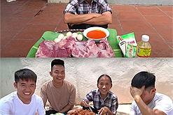 Bắc Giang đang căng cực và đây là khung cảnh bà Tân cùng đàn cháu ăn uống vui như hội, như chưa hề có cuộc cách ly