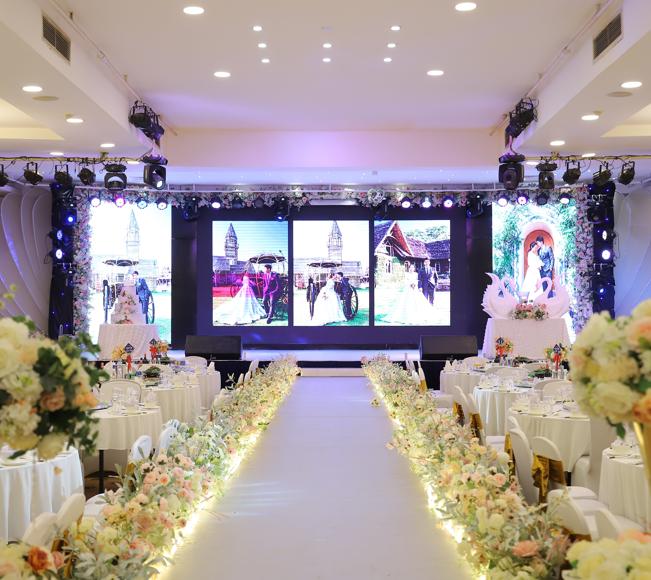 Trung tâm tiệc cưới vạn hoa