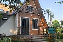 """Ông bố ở Thái Bình xây bungalow """"sang chảnh"""" tại gia cho các con nằm nhà khỏi cuồng chân, chi phí hoàn thiện chỉ 300 triệu"""