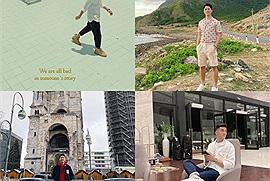 """Soi phong cách du lịch của đội tuyển bóng đá Việt Nam, người ở resort sang chảnh, người lại """"nghệ"""" như photographer"""
