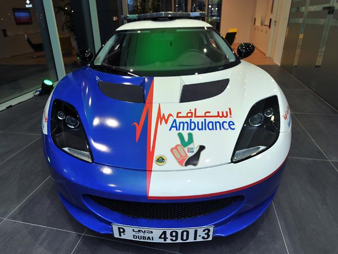 xe cảnh sát ở Dubai