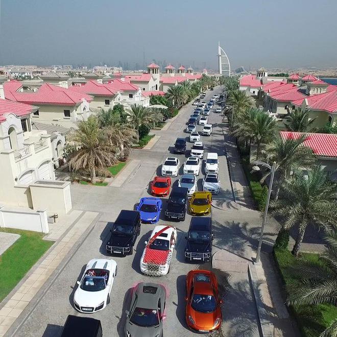 dàn xe tại Dubai
