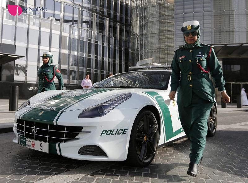 cảnh sát tại Dubai