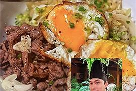 """Tối nay ăn gì? Để Lý Quí Khánh mách bạn công thức làm cơm bò Gyudon kiểu Nhật """"chuẩn"""" nhà hàng"""