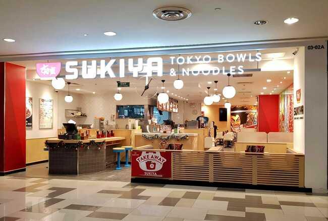 sukiya địa chỉ ăn cơm bò gyudon nhật bản ở hồ chí minh