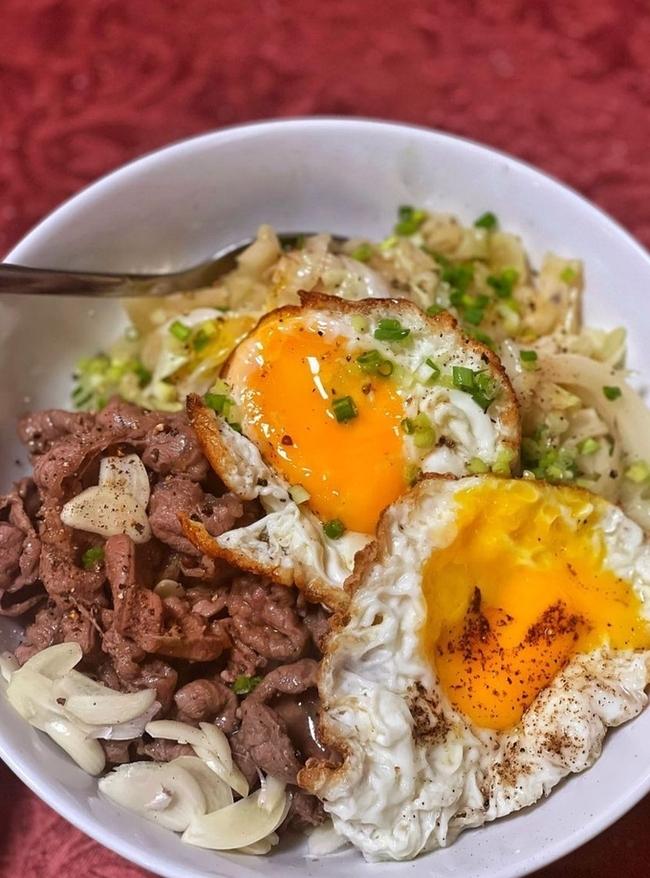 công thức nấu cơm bò gyudon nhật bản lý quí khánh