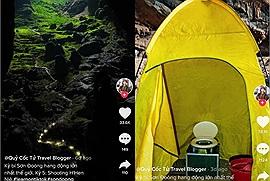 Thắc mắc thám hiểm Sơn Đoòng - hang động lớn nhất thế giới thì đi vệ sinh ở đâu, nay đã có Tiktoker Quỷ Cốc Tử giải đáp cho bạn?