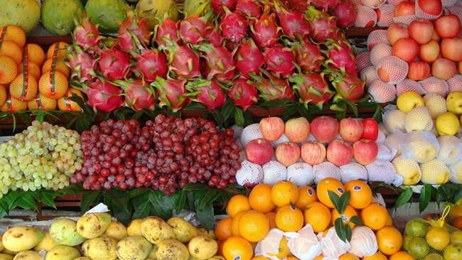 ăn hoa quả trong tết đoan ngọ