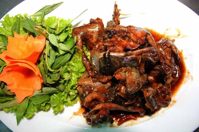 đặc sản thịt thỏ hồ trên núi đà nẵng