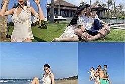 Ca nương Kiều Anh check in Phú Quốc cùng gia đình,'đốt mắt' dân tình với màn khoe dáng xỉu ngang xỉu dọc