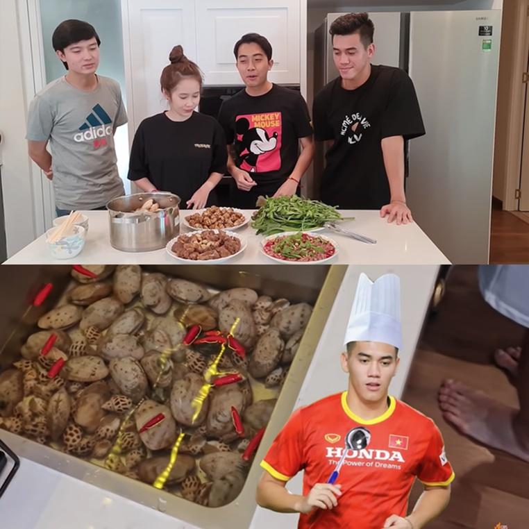 """Tiến Linh khoe khả năng nấu ăn """"thần sầu"""", nội dung chất lượng ấy thế mà vẫn ế, còn nhờ Cris Phan """"rao bán"""""""