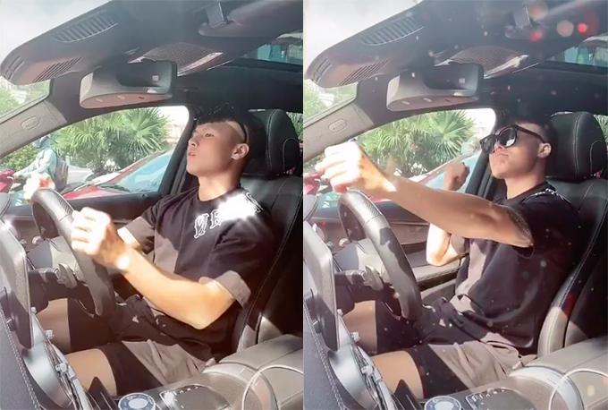 xe của Tiền vệ Quang Hải