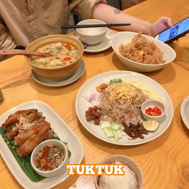 tuk tuk thai bistro top 4 nhà hàng thái hà nội