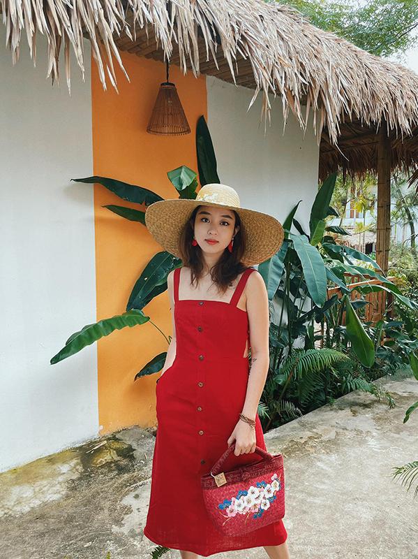 Mi Vân đi nghỉ ở vịnh Hạ Long trên núi