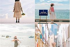 Học cách mix match theo phong cách vintage của travel blogger Hoài Thương để không đụng hàng với bất cứ ai