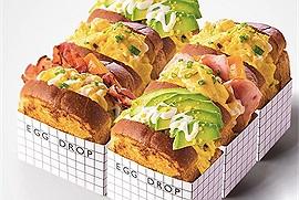 """Món ăn Hàn Quốc làm """"chấn động"""" mùa hè 2021 - món bánh sandwich trứng Egg Drop siêu độc lạ đã có nơi bán tại Việt Nam"""