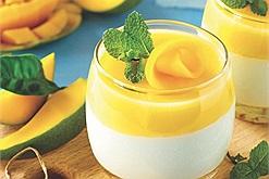 Ngày hè mát rượi với công thức thạch xoài cốt dừa - món tráng miệng dễ làm cả nhà đều mê