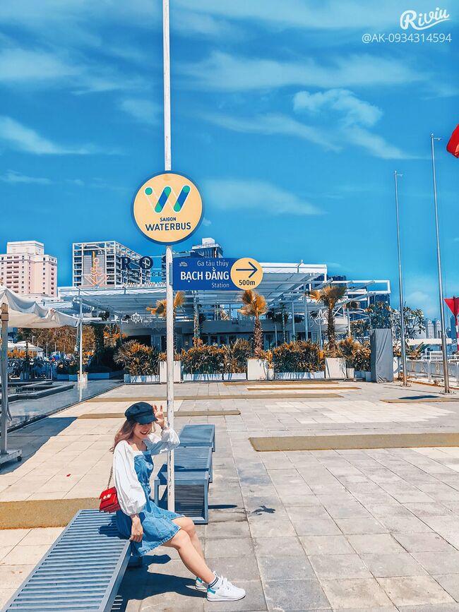 Saigon Waterbus điểm đến checkin