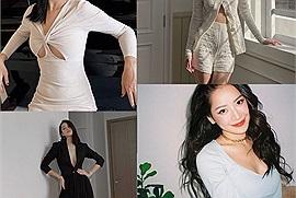 """Loạt sao nữ ở nhà mùa dịch vẫn lên đồ đẹp mê mẩn, riêng Chi Pu gây """"lú"""" vì quá đẹp"""