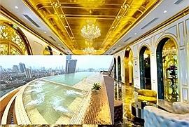 Rich kid thuê khách sạn dát vàng nhiều nhất thế giới tổ chức sinh nhật, cứ tưởng phải sang tận Dubai hóa ra ngay tại Việt Nam