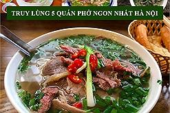 """""""Hà Nội xịn"""" đơn giản là có thực đơn cho bữa sáng ở 5 hàng phở trứ danh bậc nhất này"""