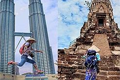 """Hành trình """"đi bụi"""" khắp 8 quốc gia, dọc 47 tỉnh thành ở Việt Nam của chàng trai Huế mang nón lá """"đồng hành"""""""