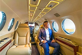 """Giới nhà giàu rộ lên trào lưu mới mùa dịch - thuê chuyên cơ riêng đi du lịch, nhìn qua bảng giá """"hết cả hồn"""""""