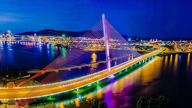 Cầu Trần Thị Lý nét đẹp dịu dàng bên bờ sông Hàn