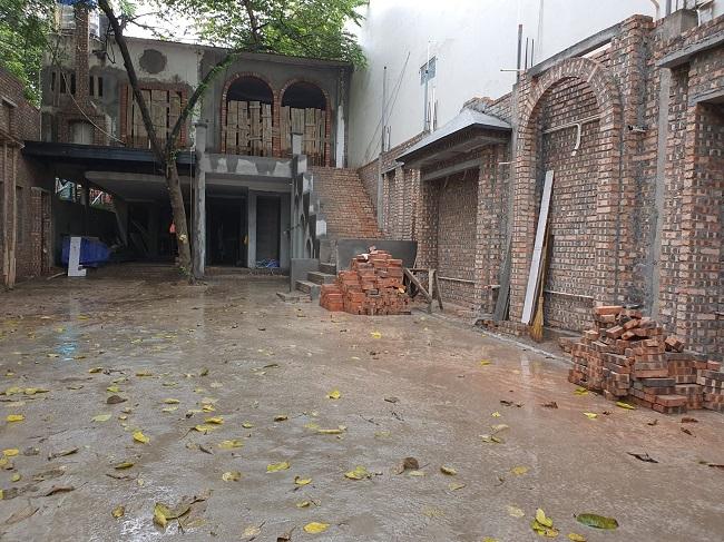 cải tạo ngôi nhà haong Hồ Tây
